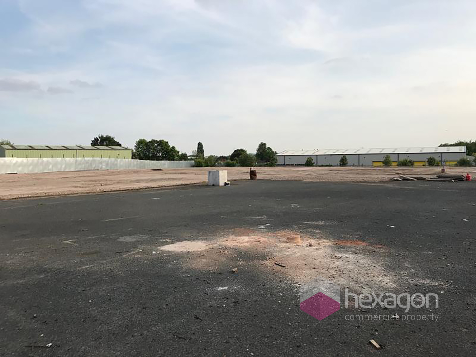 Land (Commercial) for rent in Willenhall. From Hexagon Commercial Property